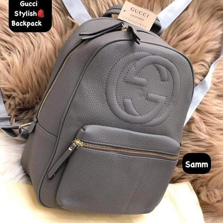 Gucci Disco Soho Grey Colour Backpack 1st copy 6612#grey