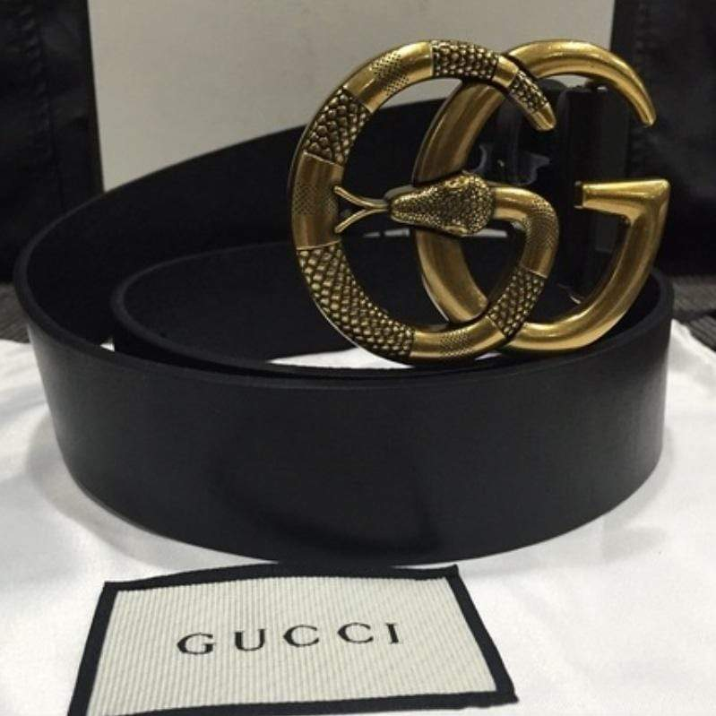 Gucci Double G Snake Black Color Ladies Belt 1st copy Gucci#GG#STRIGHT