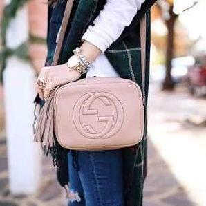 Gucci Soho Pink Colour Sling Bag First Copy