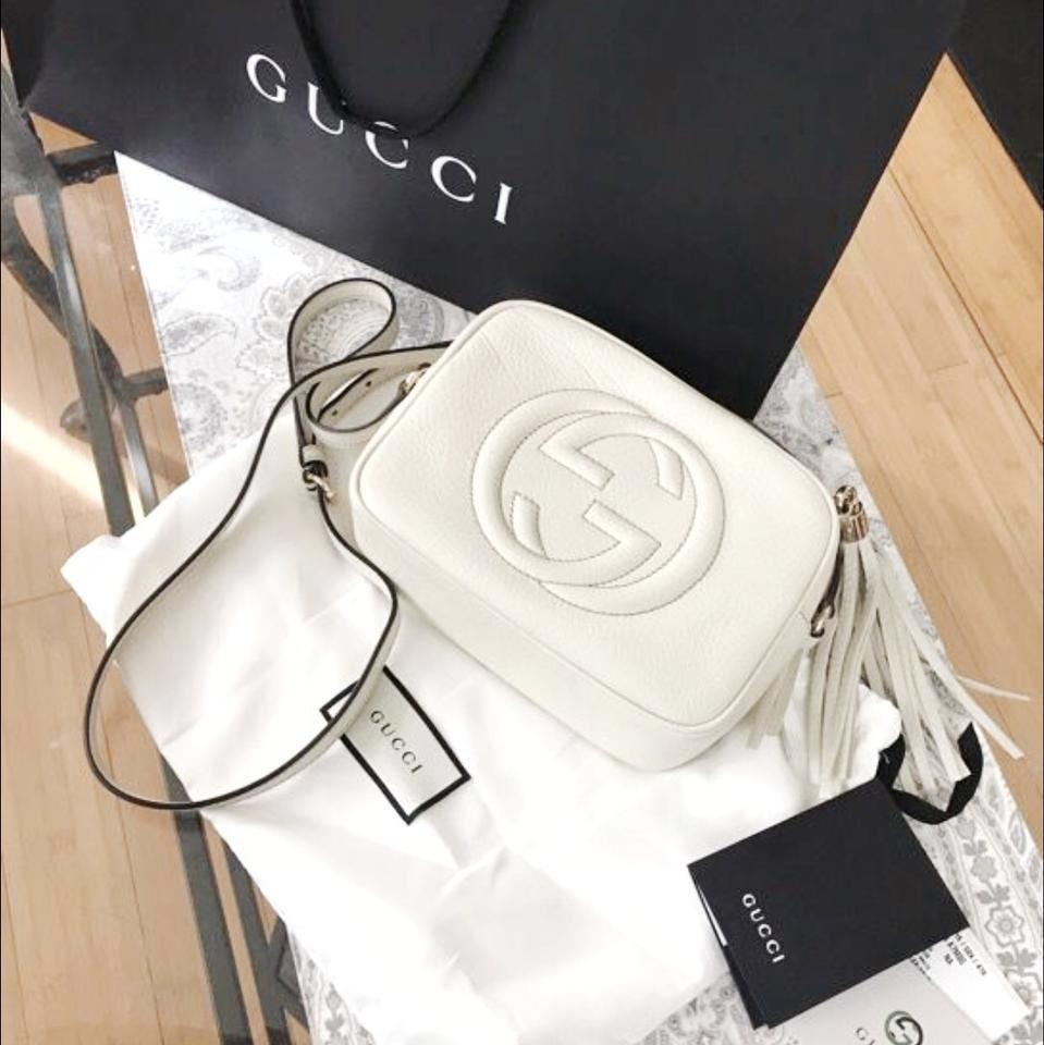 Gucci Soho White Colour Sling Bag First Copy