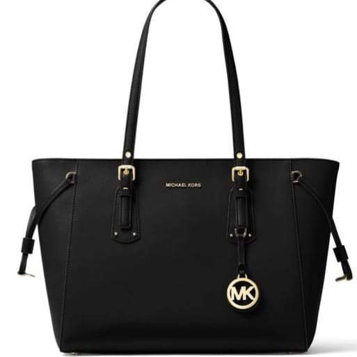 Michael Kors Voyeger Black Tote First Copy