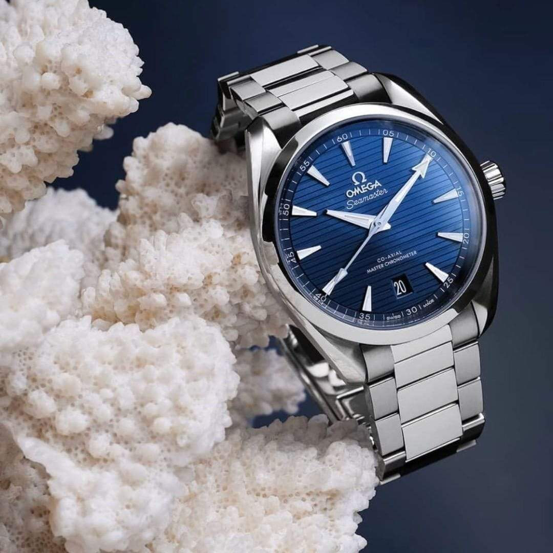 Omega Seamaster Planet Ocean Blue Dial Co-axial Men's Watch First Copy
