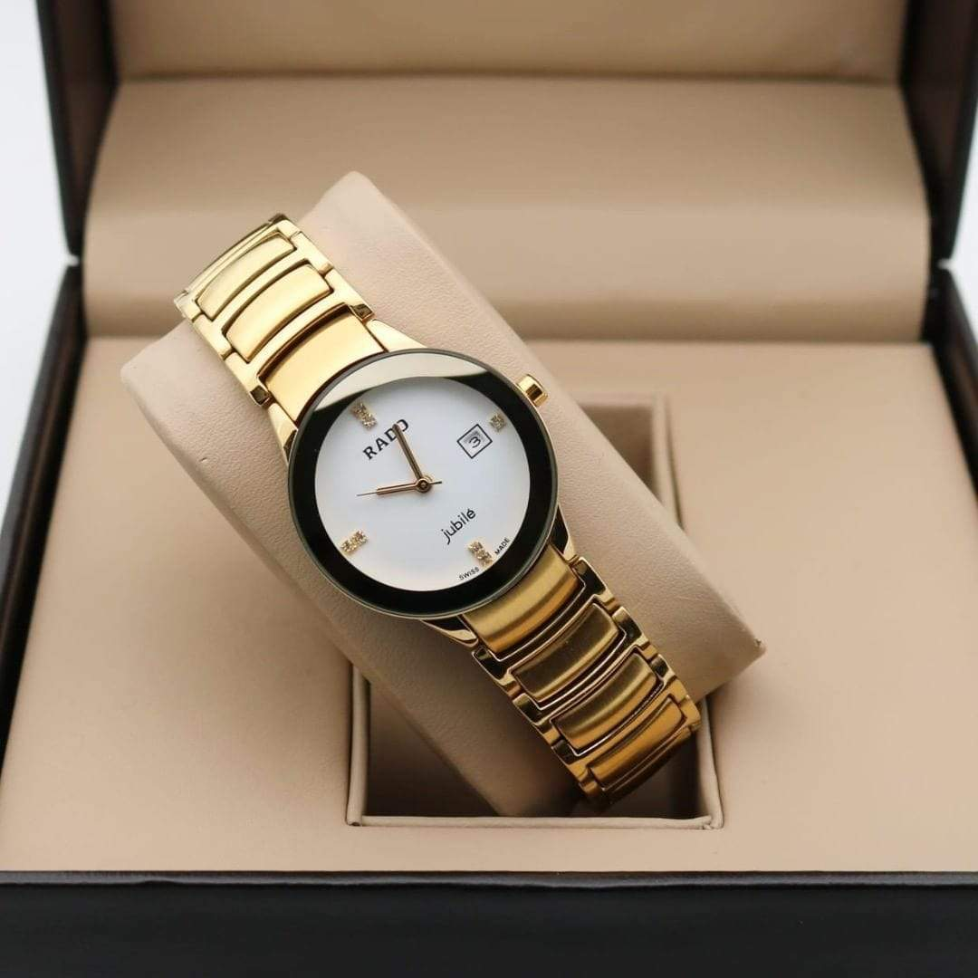 Rado Centrix Women White Dial Women's Watch First Copy