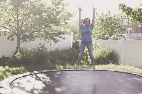 How to Overcome Self Doubt | Confident Woman on Trampoline