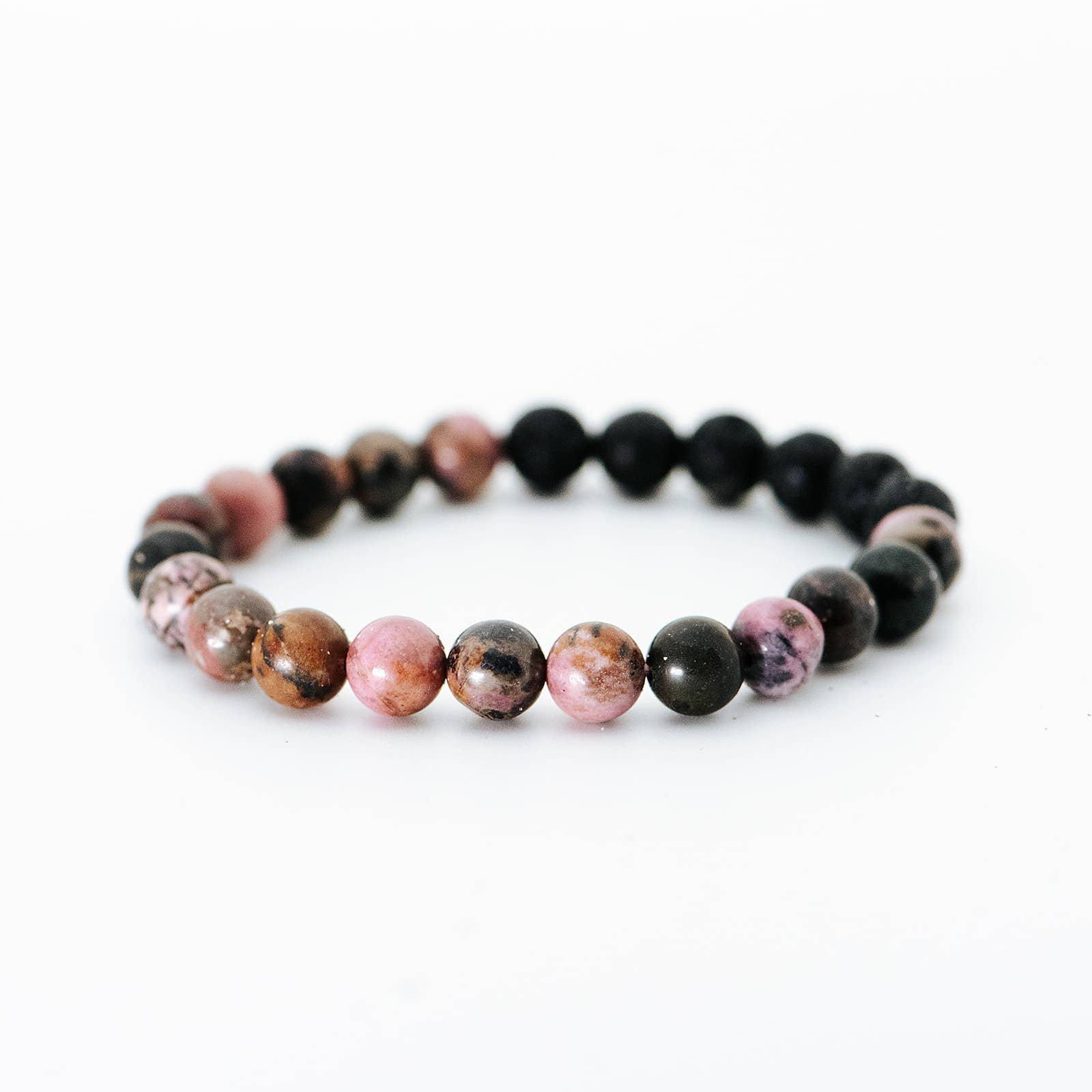 Crystal Rhodonite Bracelet | Women's Intention Jewelry