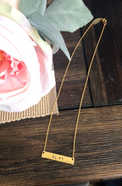 Slay Handmade Necklace | Women's Intention Jewelry