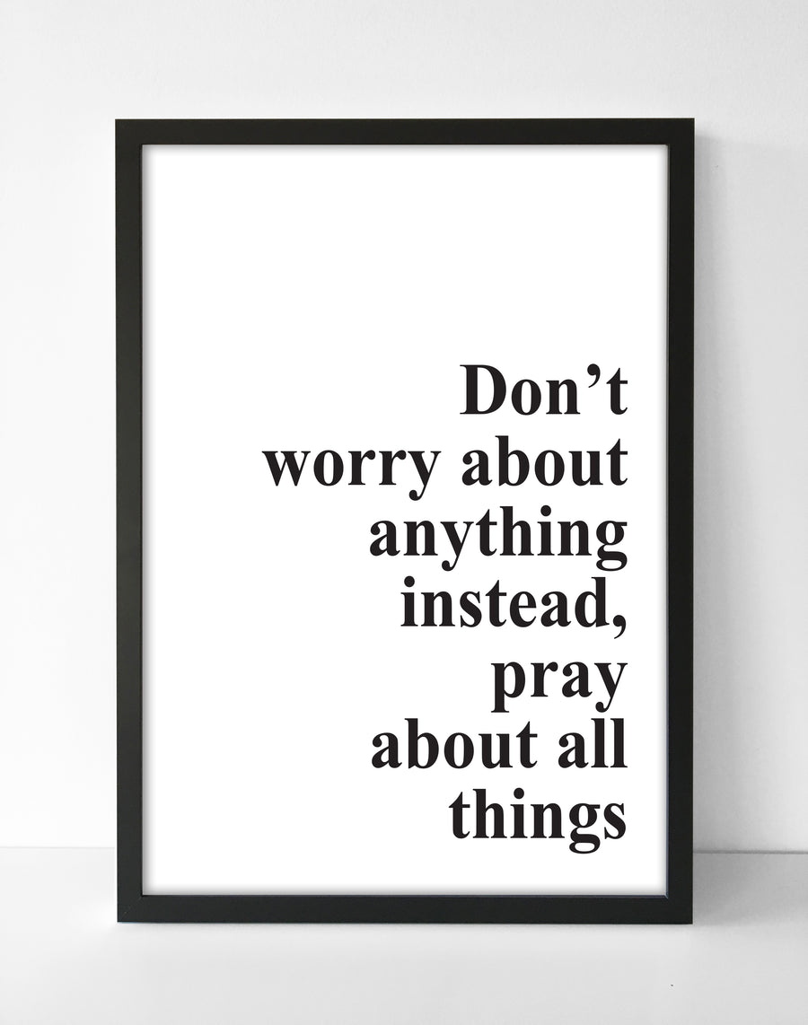 Don't Worry Poster