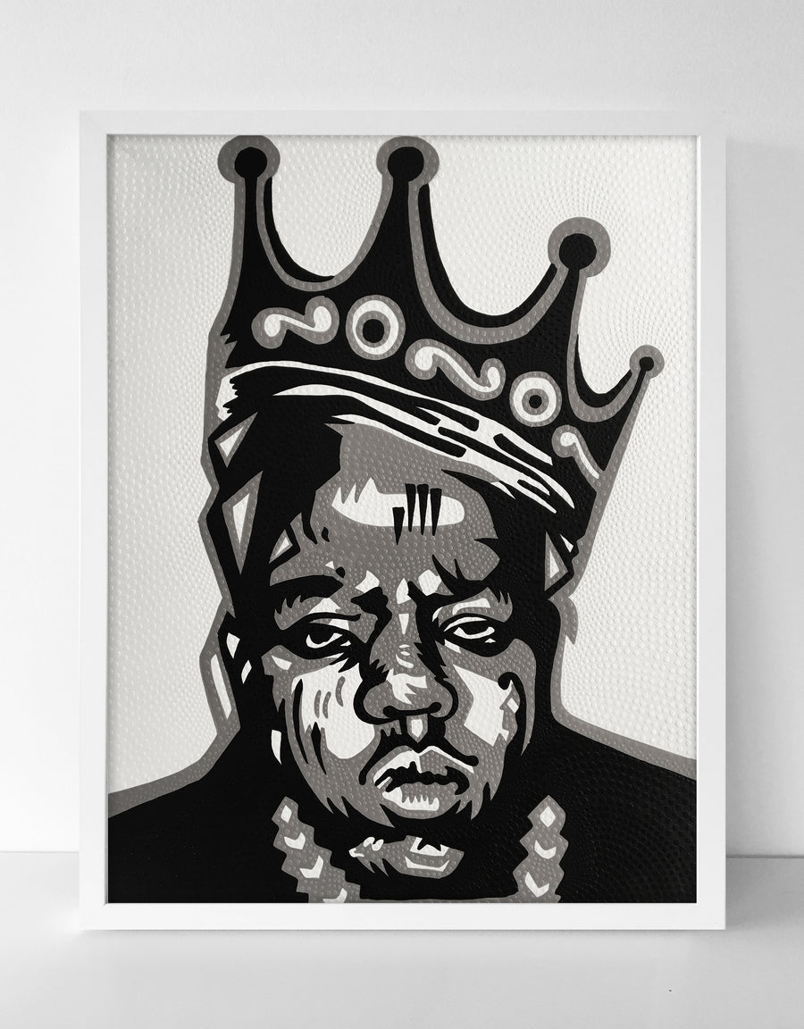 King Biggie Canvas Painting