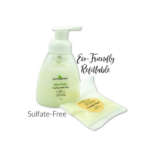 Aloe Foaming Hand Soap Sulfate-Free Refillable Zero-Waste