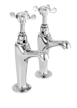 Coronation high neck sink taps