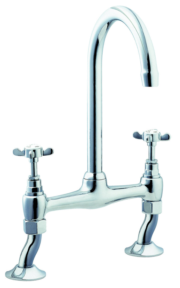 Coronation bridge sink mixer