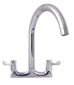 LEVER ACTION DECK MOUNTED SINK MIXER