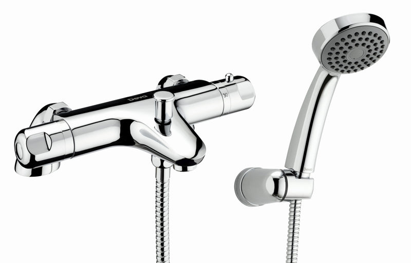 Dynamic thermostatic bath shower mixer - TMV2 Approved
