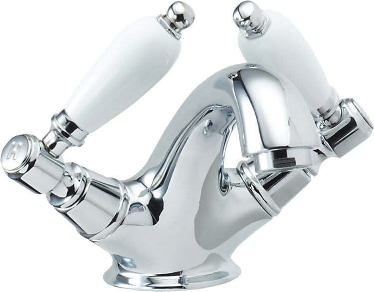 Georgian mono basin mixer