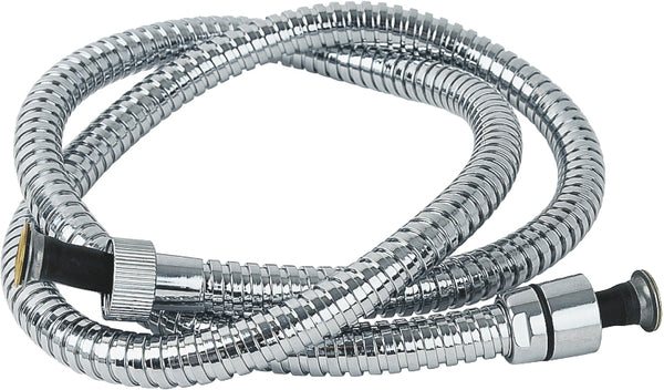 1.75m chrome hose - standard bore