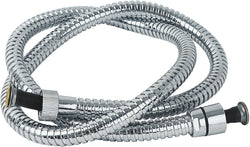 2m chrome hose - standard bore