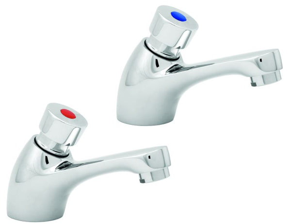 NON CONCUSSIVE (Self closing) PRE-SET BASIN TAPS