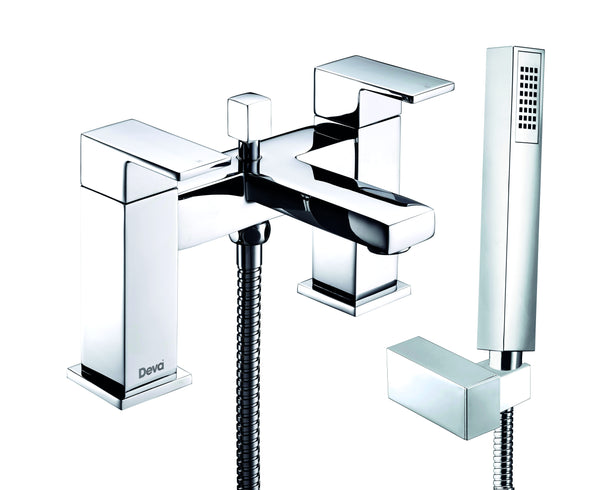 SAVVI MK2 DECK MOUNTED BATH SHOWER MIXER
