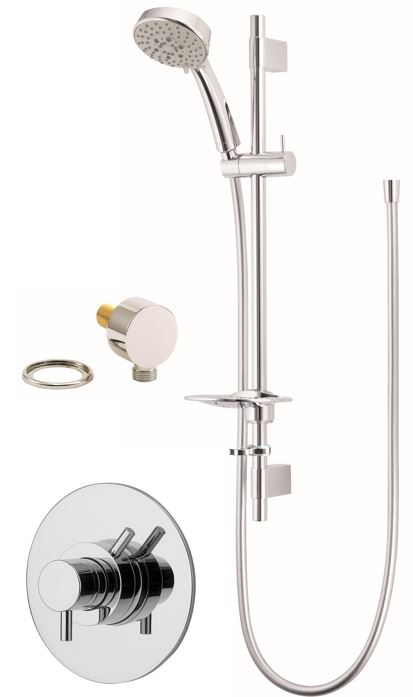 VISION CONCEALED CONCENTRIC SHOWER WITH MULTI MODE KIT