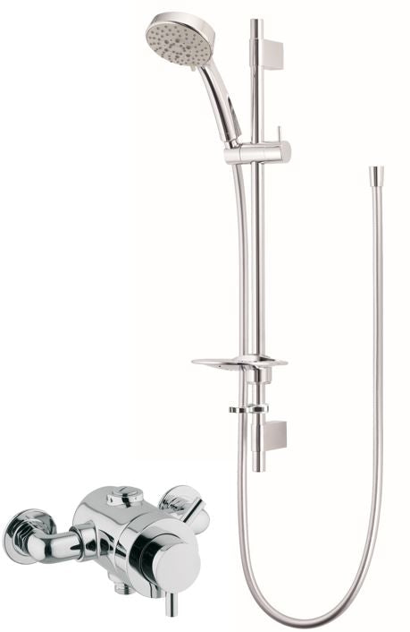 VISION EXPOSED CONCENTRIC SHOWER WITH MULTI MODE KIT