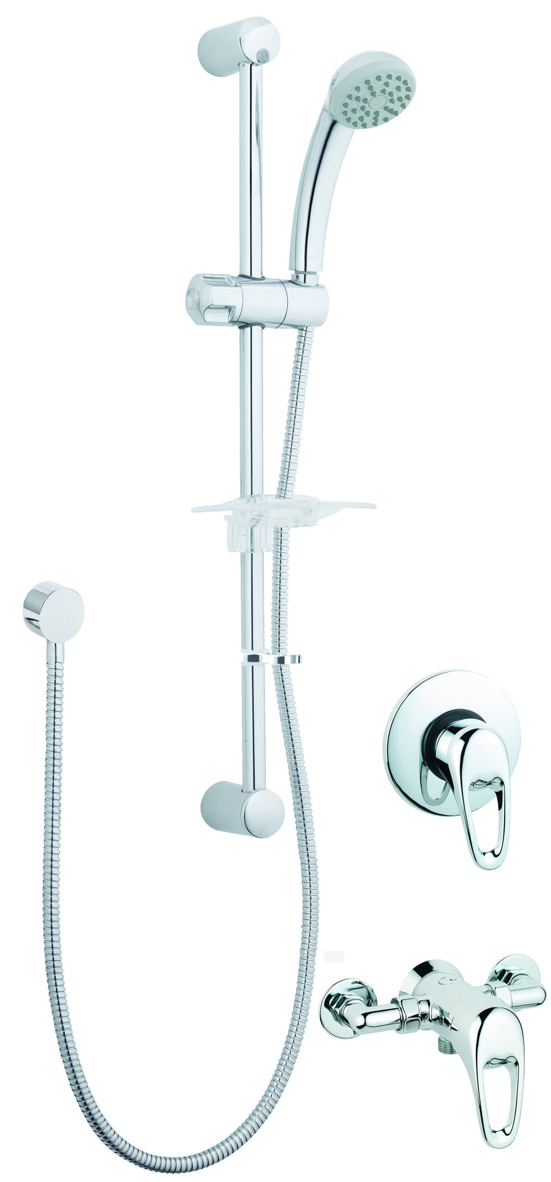 LACE MANUAL SHOWER VALVE WITH SINGLE MODE KIT