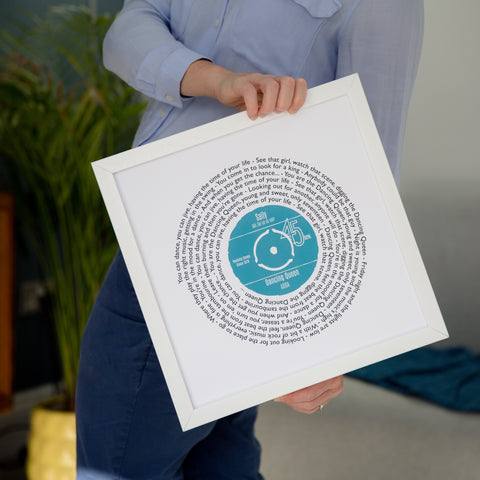 Stacey Rogers Not Just a Print Personalised Vinyl Record