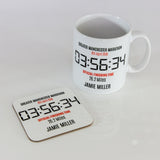 Gift For Race Finisher - Any Running, Cycling, Triathlon, Ironman Event - Personalised With Finish Time