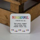 Personalised Running Gift - Runderful Definition Mug - Ideal For Runner Triathlete Marathon 5K 10K