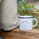 Head Gardener Gift - Persoanlised Camping Mug For Garden Lover - Gardening Themed Christmas Gift