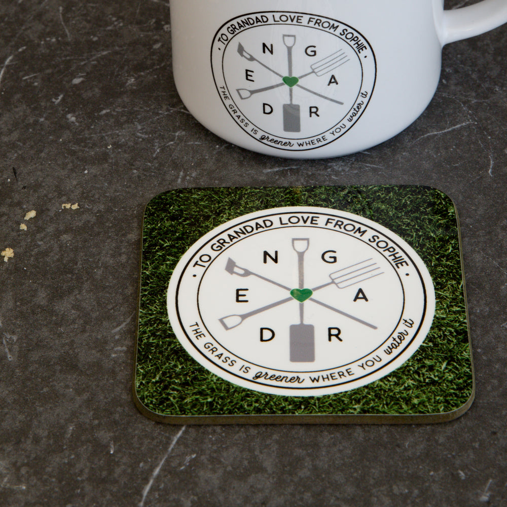 Gardening Gift - Garden Puns 'The Grass Is Always Greener Where You Water It' - Garden Lover Present