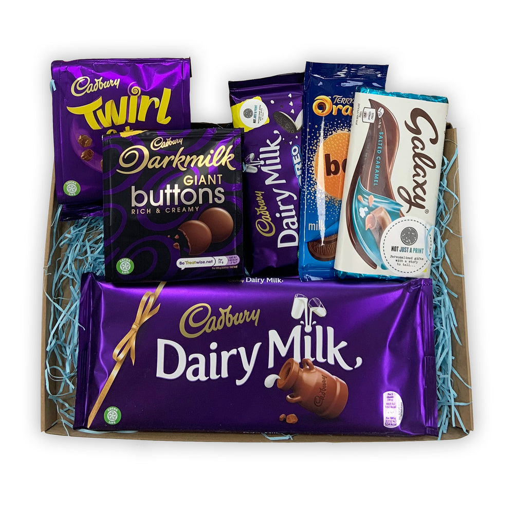 Chocolate Lovers Letterbox Hamper