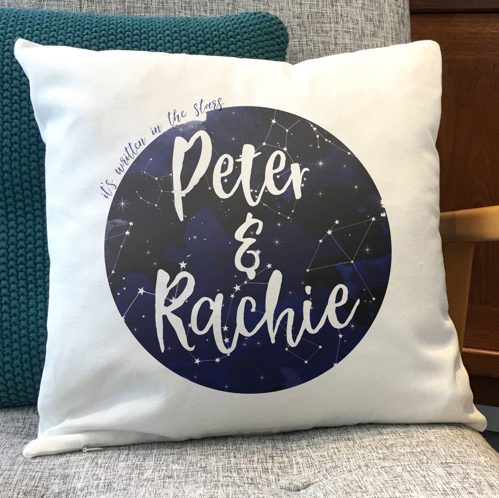 "Constellation Moon themed ""It's written in the stars"" Anniversary or Engagement Gift"
