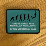 COVID-19 Charity Special - Custom CrossFit Tactile Morale Military Patch for Bag Weighted Vest
