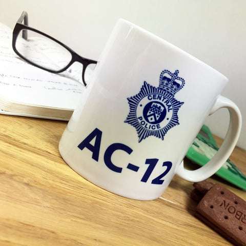 Personalised Line of Duty AC12 Mug | Novelty Police Mug
