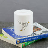 Modern Nursery Gift - Bear Cub Honey Pot Money Box - Children's Birthday Present