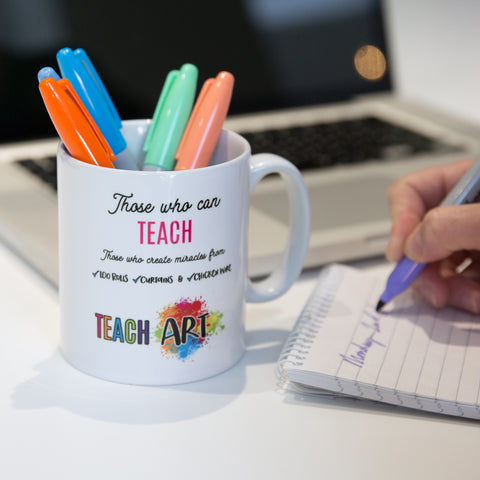 Personalised World's Best Art Teacher Gift