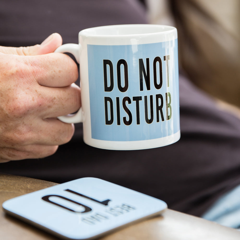 Do Not Disturb Secret Santa Mug - Football Or Rugby Fan Mug Personalised Kit Print - Gift For Dad Or Brother