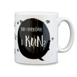 "Fun Gift For Runner -""Did I Mention I Run"" running terms - Office Secret Santa"