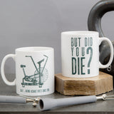Crossfit athlete fun mug - Assault bike hate personalised - crossfitter gym fitness secret santa set