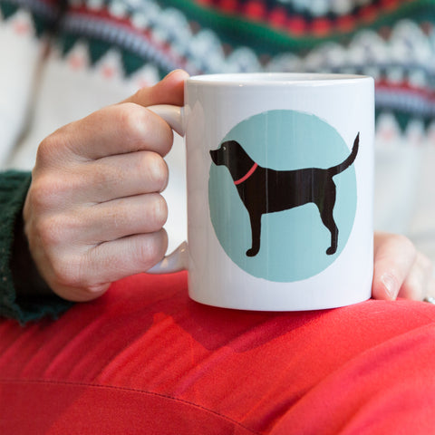 Dog Owner Gift - 'All You Need Is Love And A Labrador' Custom Designed Mug - Secret Santa For Pet Lover
