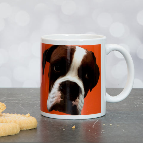 Your Face Or Mine - Funny Face Or Pet Mug Print From Any Photo - Secret Santa Or Birthday Gift Funny