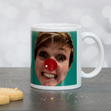 Photo Print Gift - Coaster Of Face From Photograph - Fun Gift Set For Mum Dad Brither Christmas Birthday