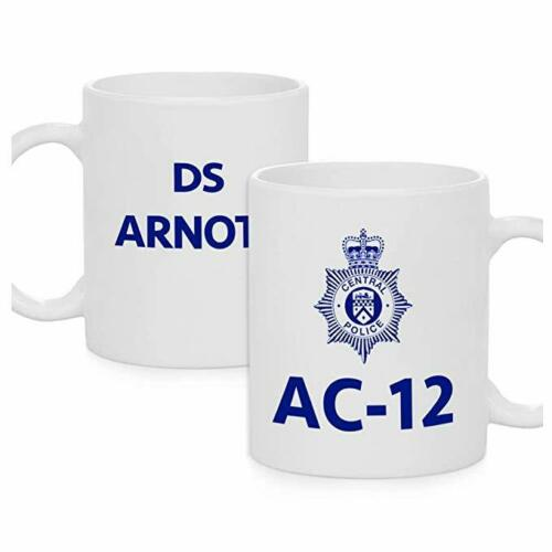 Personalised Line of Duty Season 1 2 3 AC-12 AC12 Novelty Police Mug