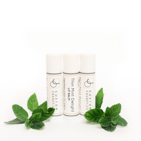 Thin Mint Delight Lip Balm