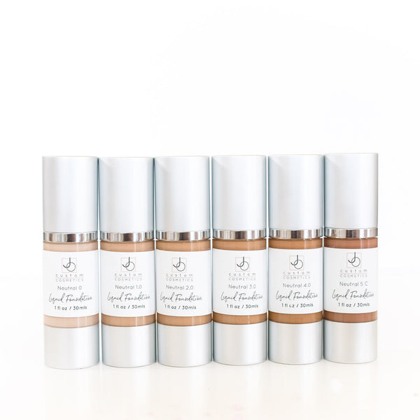 Liquid Foundation - Neutral 0