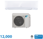 Daikin 12,000 BTU 17 Series Wall Mounted Heat Pump System