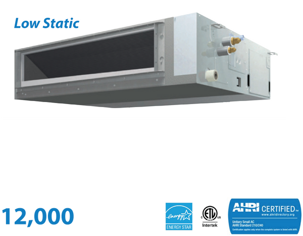 Daikin 12,000 BTU Low-Static Slim Duct Unit