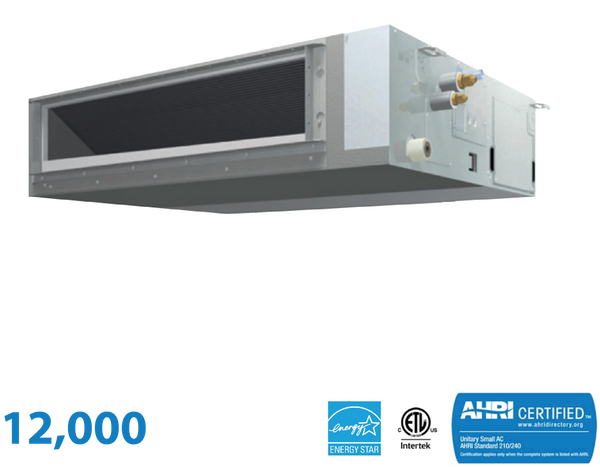 Daikin 12,000 BTU Mid-Static Slim Duct Unit