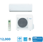 Daikin 12,000 BTU Quaternity Series 24.2 SEER High Heat Wall Mounted Heat Pump System