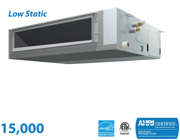 Daikin 15,000 BTU Low-Static Slim Duct Unit